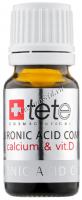 Tete Cosmeceutical Гиалуроновая кислота + кальций и витамин D, 3*10 мл - купить, цена со скидкой