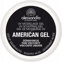 Alessandro Amercian gel thick (Гель для наращивания и моделирования ногтей), 30 г - купить, цена со скидкой