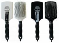 Corioliss Paddle brush (Щётка-лопата Принт Микрофон) - купить, цена со скидкой