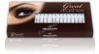 Alessandro Single eyelashes 4 in 1 (Искусственные ресницы, пучки 4 в 1, черные, полуизгиб), 90 шт - купить, цена со скидкой
