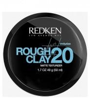 Redken Rough clay 20 (Пластичная текстурирующая глина с матовым эффектом), 50 мл - купить, цена со скидкой