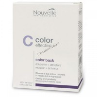 Nouvelle Color Effective Color Back (Средство для удаления краски с волос), 100 + 100 мл - купить, цена со скидкой