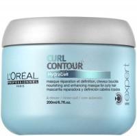 L'Oreal Professionnel Curl contour mask (Маска Керл Контур для вьющихся волос), 200 мл. - купить, цена со скидкой