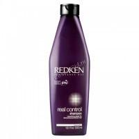 Redken Real control shampoo (Питающий восстанавливающий шампунь), 300 мл. - купить, цена со скидкой