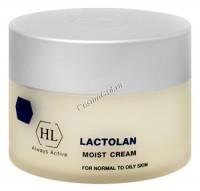 Holy Land Lactolan moist cream for oily skin (Увлажняющий крем для жирной кожи), 250 мл. - купить, цена со скидкой
