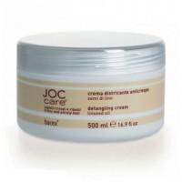 Barex Выпрямляющий крем-кондиционер для вьющихся волос с маслом семени льна 1000мл - купить, цена со скидкой