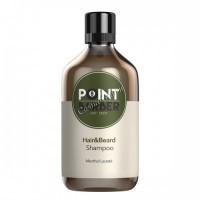 Farmagan Point Barber Hair & Beard Shampoo (Шампунь мужской освежающий для волос и бороды), 300 мл - купить, цена со скидкой