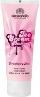 Alessandro Ice cream Mint-Strawberry (Легкий увлажняющий крем для рук с ароматом Мята-Клубника), 75 мл - купить, цена со скидкой