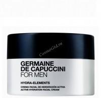Germaine de Capuccini For Men Hydra-Elements (Крем увлажняющий Гидра-Элементс), 50 мл - купить, цена со скидкой