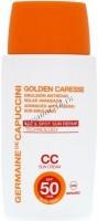 Germaine de Capuccini Golden Caresse Advanced Anti-Ageing Sun Emulsion SPF50 CC (Эмульсия антивозрастная с тональным эффектом SPF50), 50 мл -