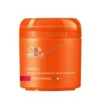 Wella Enrich (Питательная крем-маска для нормальных и тонких волос), 150 мл - купить, цена со скидкой