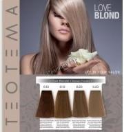 Teotema Love Blond (Карта оттенков) - купить, цена со скидкой