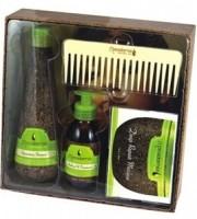 Macadamia Natural Oil Подарочный Набор  (Уход, Шампунь, Маска, Гребень) - купить, цена со скидкой