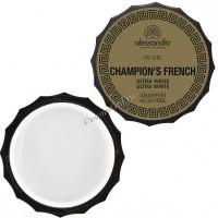 Alessandro Champions french sculpting gel ultra-white (Френч-гель для моделирования ногтей), 15 г - купить, цена со скидкой