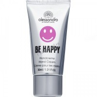 Alessandro Be happy hand cream (Крем  для рук), 30 мл - купить, цена со скидкой