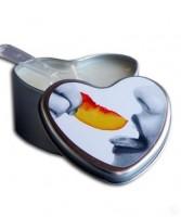 H.air Spa Свеча съедобная на основе сои и конопли-персик 133 гр - купить, цена со скидкой