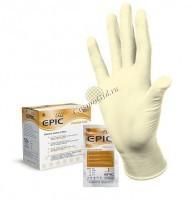 Перчатки Epic SO PF латексные хирургические стерильные, 1 пара - купить, цена со скидкой