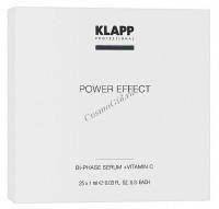 Klapp Klapp Bi-Phase serum Vitamin C (Двухфазная сыворотка «Витамин С»), 25 шт x 1 мл - купить, цена со скидкой