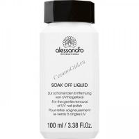 Alessandro Soak off liquid (Средство для удаления лак-геля), 500 мл - купить, цена со скидкой