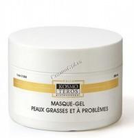 Kosmoteros Masque gel peaux grasses et a problemes (Гель-маска для жирной и проблемной кожи, холодное гидрирование), 250 мл - купить, цена со скидкой
