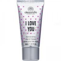 Alessandro I love you hand cream (Крем  для рук), 30 мл - купить, цена со скидкой