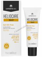 Cantabria Labs HELIOCARE 360º Gel Oil-Free Dry Touch SPF 50 Sunscreen (Солнцезащитный гель с SPF 50 для нормальной и жирной кожи), 50 мл -
