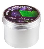 Thai Traditions Wine Massage Candle (Массажная свеча Вино), 120 мл - купить, цена со скидкой