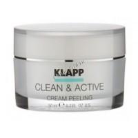Klapp clean & active Cream peeling (Крем-пилинг) - купить, цена со скидкой