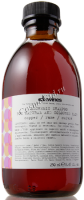 Davines Alchemic shampoo for natural and coloured hair cooper (Шампунь «Алхимик» для натуральных и окрашенных волос, медный), 280 мл - купить, цена со скидкой