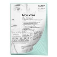 Klapp Aloe vera viles (Коллагеновый лист с алое), 1 шт - купить, цена со скидкой