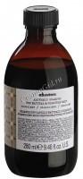 Davines Alchemic shampoo for natural and coloured hair chocolate (Оттеночный шампунь «Алхимик» для натуральных и окрашенных волос, шоколад), 280 мл - купить, цена со скидкой