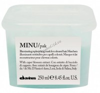Davines Essential Haircare New Minu hair mask (Восстанавливающая маска для окрашенных волос) -