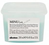 Davines Essential Haircare New Minu hair mask (Восстанавливающая маска для окрашенных волос) - купить, цена со скидкой