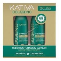 Kativa Collageno (Набор коллагеновый шампунь+кондиционер) - купить, цена со скидкой