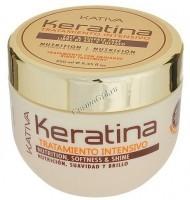 Kativa Кератиновая интенсивно восстанавливающая маска для поврежденных и хрупких волос -