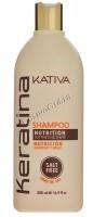 Kativa Keratina (Укрепляющий шампунь с кератином для всех типов волос) -