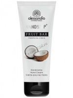 Alessandro Fruit bar tropical coco hand cream (Ароматерапевтический увлажняющий крем для рук Тропический кокос), 75 мл - купить, цена со скидкой