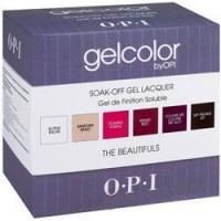OPI  Набор цветных гелей 6 шт. Beautiful Basics - купить, цена со скидкой