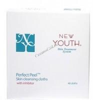 New Youth Очищающие салфетки, 40 шт - купить, цена со скидкой