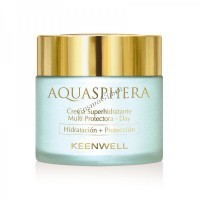 Keenwell Aquasphera super moisturizing multi-protective cream day (Дневной суперувлажняющий мультизащитный крем), 80 мл - купить, цена со скидкой