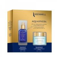 Keenwell Aquasphera Набор дневной крем и сыворотка, 2 средства. - купить, цена со скидкой