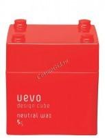 Demi Uevo Design Cube Neutral Wax (Воск для укладки степень фиксации 5, блеск 5) - купить, цена со скидкой