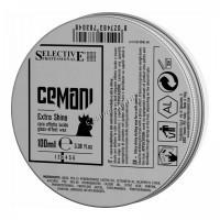 Selective Cemani extra shine (Воск для волос с глянцевым эффектом), 100 мл - купить, цена со скидкой