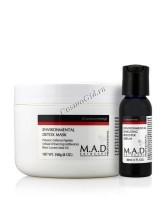 M.A.D Skincare Environmental Environmental Detox Mask+Environmental Shielding Booster Serum (Детоксицирующая очищающая маска+ Сыворотка-бустер Антистресс), 240 гр / 30 мл - купить, цена со скидкой