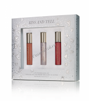 Jane Iredale Lip Trio Kiss and Tell (Трио блеска для губ Секрет поцелуя) - купить, цена со скидкой