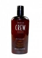 American crew Tea Tree (Средство для волос 3 в 1), 450 мл. - купить, цена со скидкой