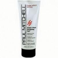 Paul Mitchell Гель для волос сильной фиксации Super Clean Sculpting Gel 100 мл. - купить, цена со скидкой