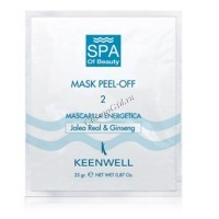 Keenwell Mask peel-off 2 (Энергетическая спа-маска №2), 12 шт по 25 гр - купить, цена со скидкой