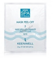 Keenwell Mask peel-off 5 (Подтягивающая альгинатная спа-маска №5), 12 шт. по 25 г. - купить, цена со скидкой