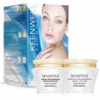 Keenwell Sensitive Дневной и ночной крем в наборе, 2 средства. - купить, цена со скидкой